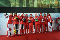 Valentino Rossi, Nicky Hayden, Fernando Alonso, Felipe Massa, Giancarlo Fisichella, Jules Bianchi, M