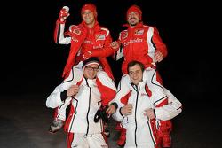 Fernando Alonso and Felipe Massa