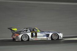 #9 Heico Motorsport Mercedes Benz SLS AMG GT3: Bernd Schneider, Brice Bosi, Lance David Arnold, Christiaan Frankenhout, Andreas Wirth