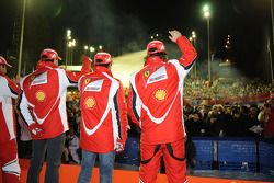 Fernando Alonso, Scuderia Ferrari, Felipe Massa, Scuderia Ferrari, Marc Gene, piloto de prueba Scude