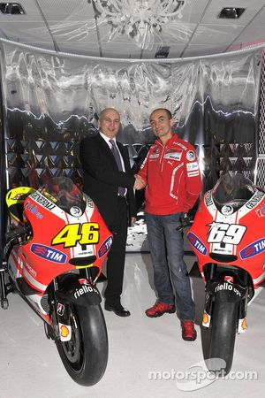 Claudio Domenicali, director de Ducati
