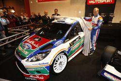 Gerard Quinn, Donald Smith en Mikko Hirvonen, voorstelling Ford Fiesta RS WRC, 2011 Autosport Intern