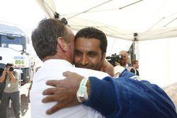 Nasser Al Attiyah et Kris Nissen