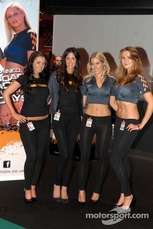 Superstock Powerboat Racing Promo Girls