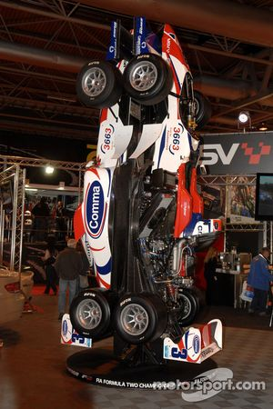 Formula 2 car on the MSV Stand