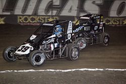 Tyler Courtney et Sammy Swindell