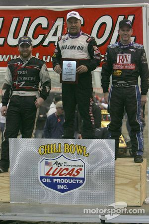 Nick Kneeper, Sammy Swindell and Jerry Coons Jr.