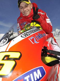 Valentino Rossi, Ducati, en la presentación de la Ducati Desmosedici GP11