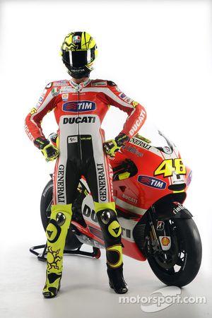 Valentino Rossi, Ducati, met de Ducati Desmosedici GP11