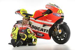 Valentino Rossi, Ducati, with the Ducati Desmosedici GP11