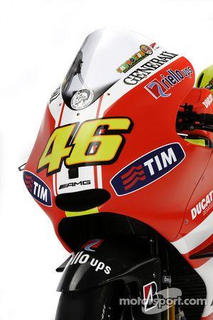 Мотоцикл Ducati Desmosedici GP11