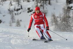 Жюль Бьянки, тестовый пилот Scuderia Ferrari