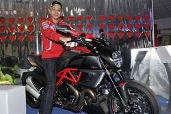 Valentino Rossi, Ducati with the Ducati Diavel Carbon