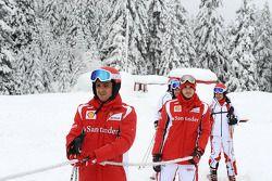 Фелипе Масса, Scuderia Ferrari, Жюль Бьянки, тестовый пилот Scuderia Ferrari