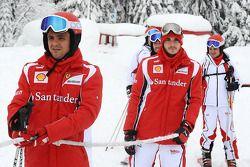 Felipe Massa, Scuderia Ferrari, Jules Bianchi, piloto de prueba Scuderia Ferrari