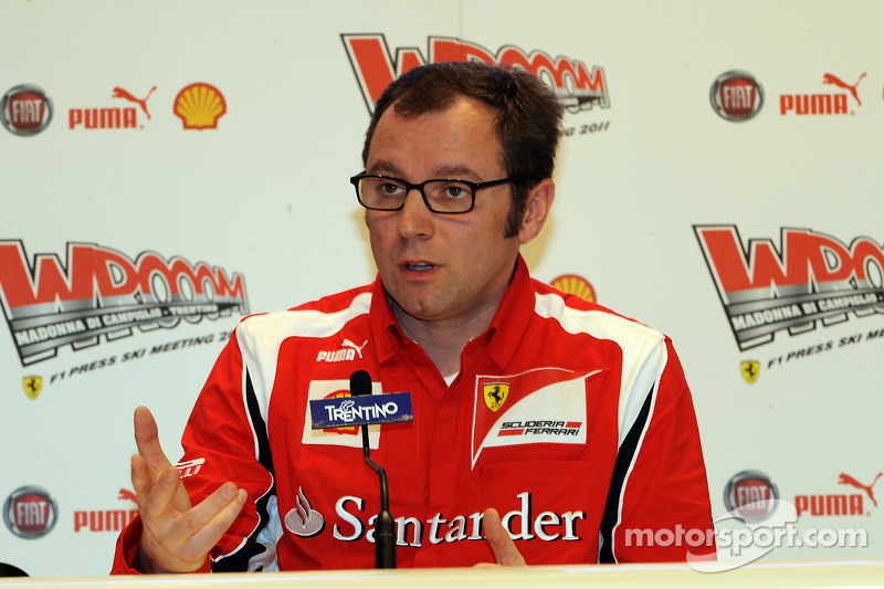 Stefano Domenicali, director general de Scuderia Ferrari