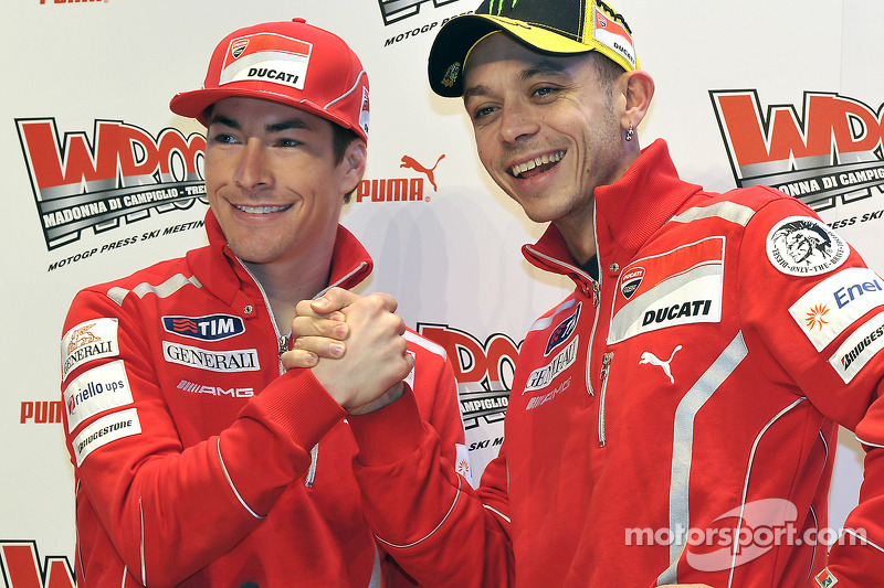 2011: Re-united with Valentino Rossi at Ducati