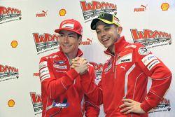 Nicky Hayden, Ducati en Valentino Rossi, Ducati