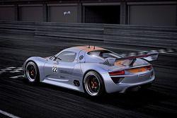 De nieuwe Porsche Concept Car 918 RSR