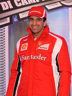 Марк Жене, тестовый пилот Scuderia Ferrari