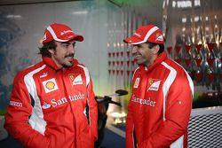 Fernando Alonso et Marc Gené, Scuderia Ferrari