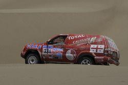 #334 Nissan: David Deslandes en Alain Brousse