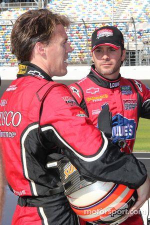 Alex Gurney et Jimmie Johnson