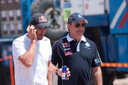 Luc Alphand y Carlos Sainz
