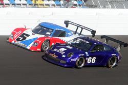 #5 Action Express Racing Porsche-Riley: David Donohue, Burt Frisselle, Darren Law, Buddy Rice, #66 T