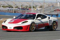#81 DragonSpeed Ferrari 430 Challenge: Nick Jones, Elton Julian, Fred Poordad, Cort Wagner, Christia
