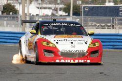 #43 Team Sahlen Mazda RX-8: Memo Gidley, Joe Nonnamaker, Wayne Nonnamaker, Will Nonnamaker, Joe Sahlen