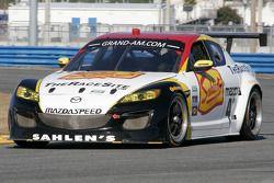 #42 Team Sahlen Mazda RX-8: Memo Gidley, Joe Nonnamaker, Wayne Nonnamaker, Will Nonnamaker, Joe Sahlen
