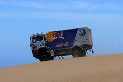 #559 Man Volkswagen Motorsport service truck: Dieter Depping, Dirk van Obbergen et Thorsten Goldberg