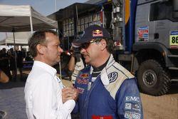 Kris Nissen y Carlos Sainz