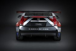 The new Cadillac CTS-V Coupe race car that will be raced by Johnny O'Connell and Andy Pilgrim in the SCCA World Challenge GT series in 2011