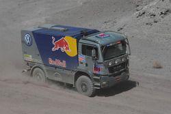 #569 Man Volkswagen Motorsport service truck: Dieter Depping, Dirk van Obbergen et Thorsten Goldberg