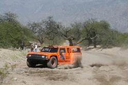 #303 Hummer H3: Robby Gordon and Kellon Walch