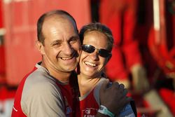 Isabelle Patissier et Thierry Delli Zotti