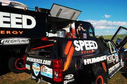 Hummer H3 of Eliseo Salazar