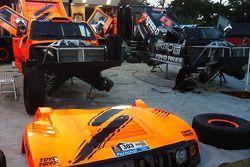 Robby Gordon Motorsports service area