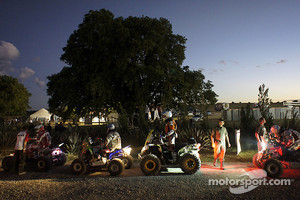 Early start for Quad category riders
