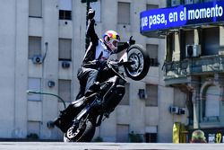 Chris Pfeiffer, pilote de stunt