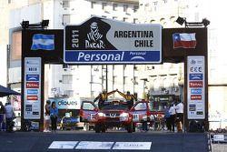 #381 Nissan: Carlos Machado De Oliveira, Ricardo Manuel Trejeira Corticadas