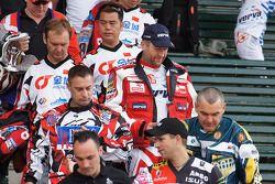 Meeting des concurrents du Dakar 2011