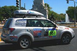 #951 Subaru media car: Ellen Lohr