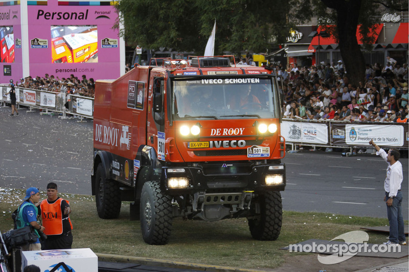 #501 Iveco: Gerardus de Rooy, Tom Colsoul and Darek Rodewald