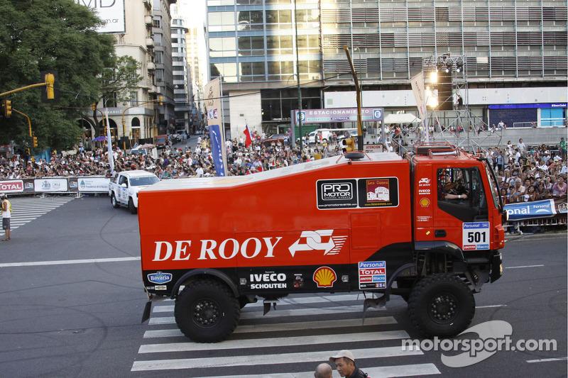 #501 Iveco: Gerardus de Rooy, Tom Colsoul and Darek Rodewald