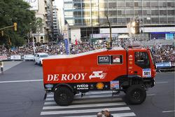 #501 Iveco: Gerardus de Rooy, Tom Colsoul et Darek Rodewald