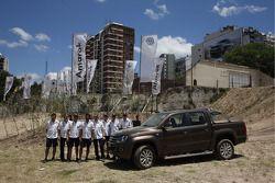 Volkswagen Amarok: Lucas Cruz Senra, Carlos Sainz, Nasser Al Attiyah, Timo Gottschalk, Mark Miller,