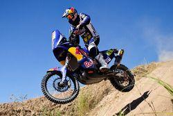 KTM test before scrutineering: Cyril Despres